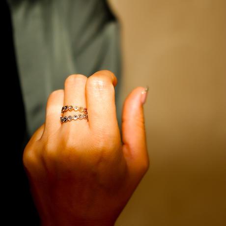 ボヘミアンリゾート リング 金属アレルギー対応 花 フラワー フリーサイズ 指輪 ステンレス ステンレス メンズ レディース シルバー ゴールド ピンクゴールド インスタ mnk32