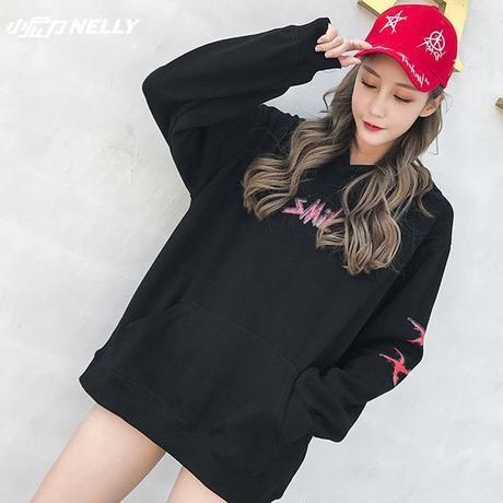 ユニセックス メンズ レディース 裏起毛 プリント スウェット パーカー 大きいサイズ  オーバーサイズ 韓国ファッション (DCT-561331102507)