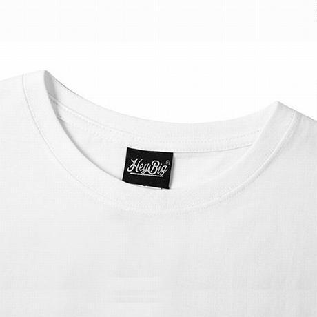 ユニセックス Tシャツ 半袖 メンズ レディース ラウンドネック ラビット うさぎ プリント オーバーサイズ 大きいサイズ ルーズ ストリート TBN-622458443446