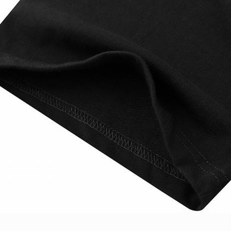 ユニセックス Tシャツ 半袖 メンズ レディース ラウンドネック シンプル プリント オーバーサイズ 大きいサイズ ルーズ ストリート TBN-623119166876