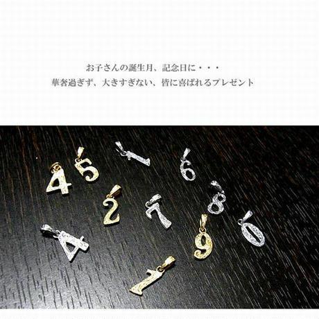 ハワイアンジュエリー ネックレス ナンバー 数字 K14ゴールド ステンレス インスタ (gps81082)