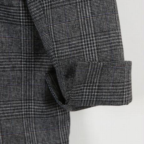 グレンチェック テーラードジャケット ショートコート 韓国ファッション レディース ジャケット ダブルブレスト アウター ゆったり 大人可愛い ガーリー DTC-624837807769