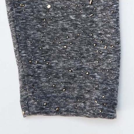 レディース ラウンドネック 星プリント 長袖 Tシャツ トップス スパンコール ドルマンスリーブ 韓国ファッション (DCT-586624313914)