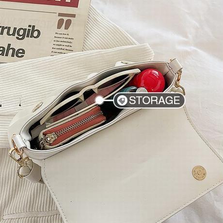 2WAY ハンドバッグ ショルダーバッグ ミニバッグ 斜めがけ 韓国ファッション バッグ 肩掛け シンプル マグネット オールシーズン PUレザー DTC-643319230985