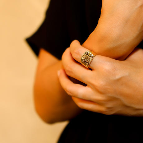 ボヘミアンリゾート リング クロコダイル 金属アレルギー対応 フリーサイズ 指輪 ステンレス メンズ レディース シルバー ゴールド ピンクゴールド インスタ mnk23