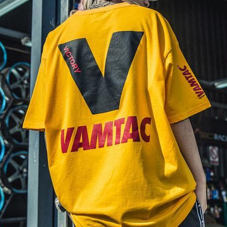Tシャツ 半袖 メンズ レディース ユニセックス ラウンドネック 英字 V プリント オーバーサイズ 大きいサイズ ルーズ ストリート TBN-565509581830