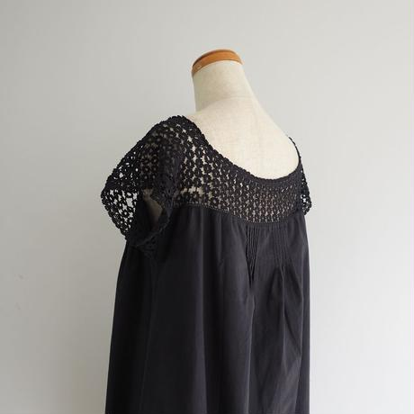 Antique French Cotton Lace Dress