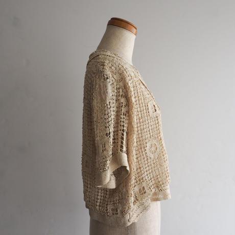 Antique Crochet Lace Top