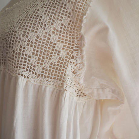 Antique Crochet Lace Dress