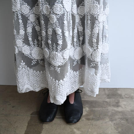 Remade Antique Lace Dress