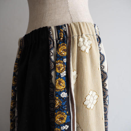 1970s Chessa Davis Patchwork Skirt