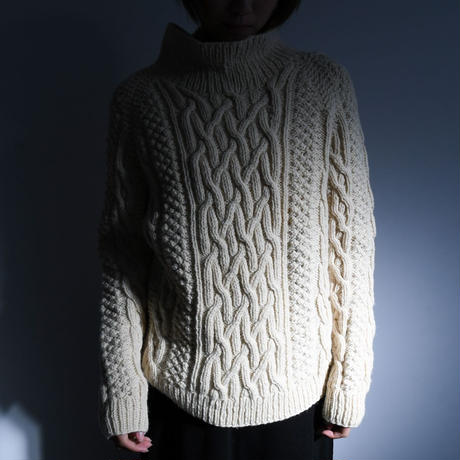 1970s Cable Knit Sweater