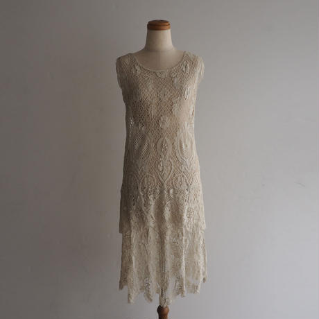 Antique Lace Tunic Dress