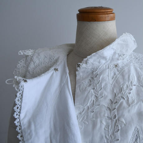 Remade Antique Lace Blouse