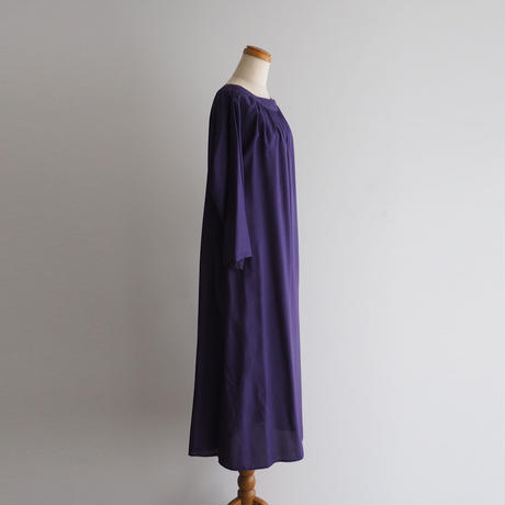 Purple Smock Dress