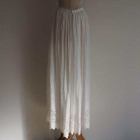 Antique Lace Skirt
