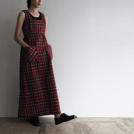 vintage Tartan Check Dress