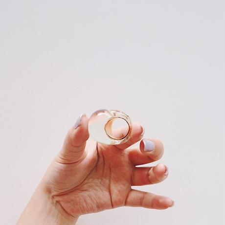 vintage 1980s  BCBG MAXAZRIA Lucite Ring