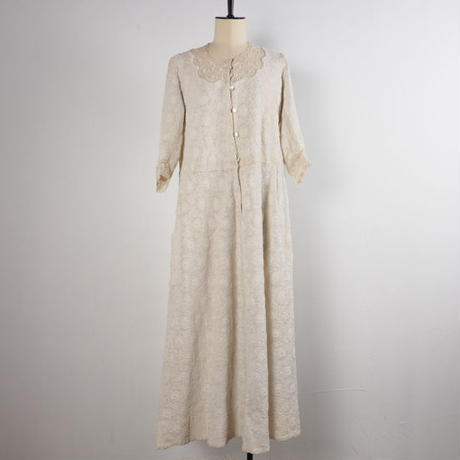 antique 1900s  remade dress