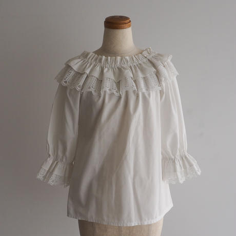 1970s Off Shoulder Blouse
