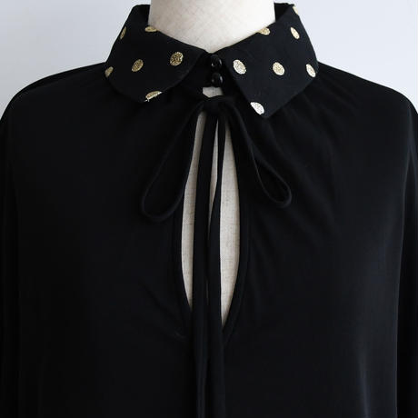 1970s Valentino Dot Blouse