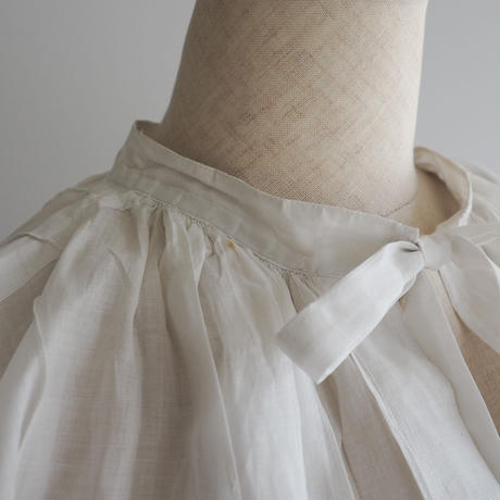 Antique Pleated Smock Shirt