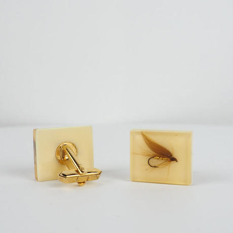 vintage 1950s Lucite Cuff Links