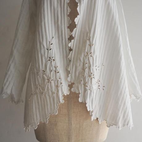 Antique White Lace Blouse