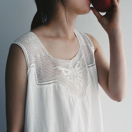 Antique Crochet Buttefly Dress