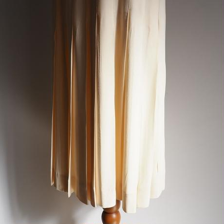 vintage CHANEL Silk Skirt