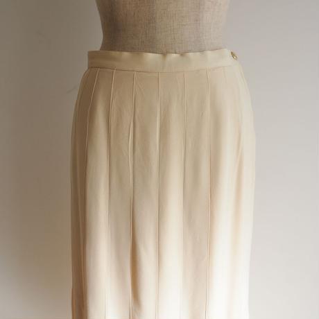 vintage CHANEL Silk Skirt