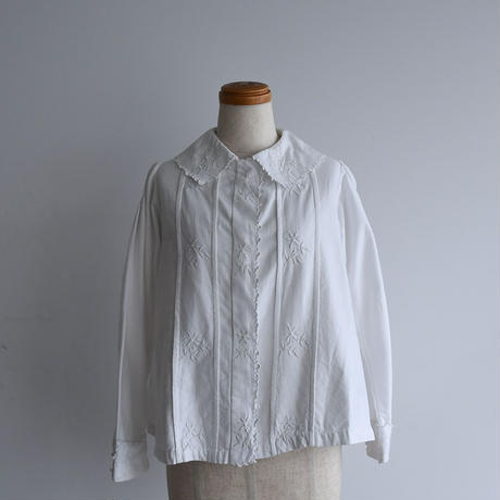 1920s Hand Embroidered Blouse