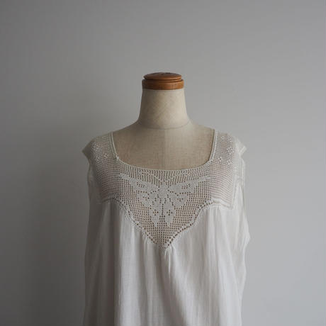 Antique Crochet Buttefly Dress