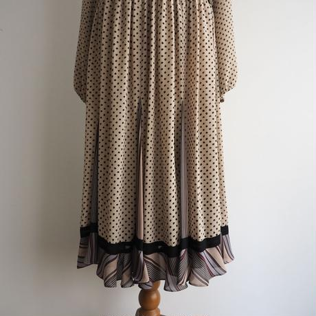 vintage Diane Freis Dot Dress