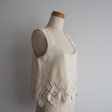 1920s French Knit Top