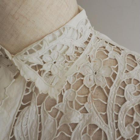 Antique Cutout Lace Blouse