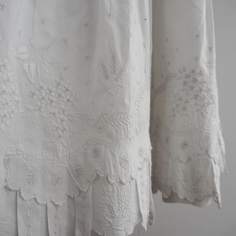 Antique French Lace Skirt