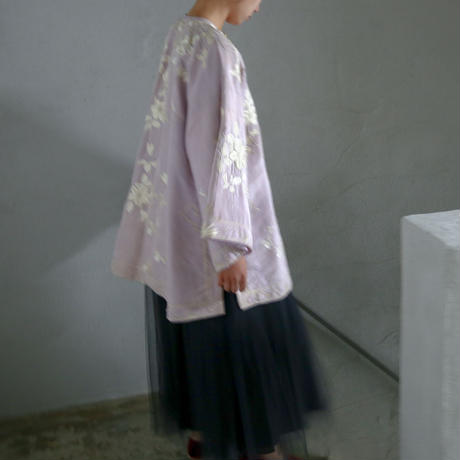 1920s Lilac Chinese Jacket
