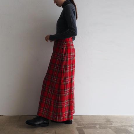 vintage Tartan Check Skirt