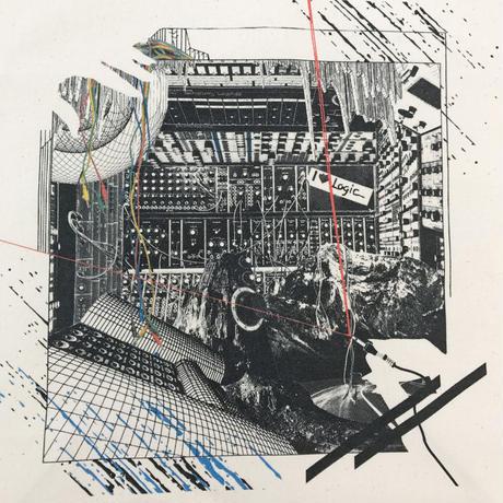 pinewaves / Logic System × Kosuke KAWAMURA  Synth Collage Tote