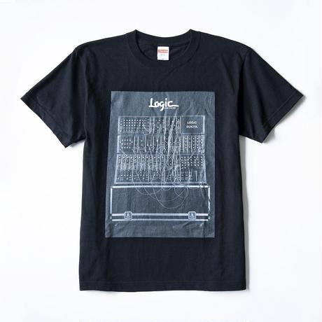 pinewaves / Logic System × SUKITA フォトTシャツ(ブラック)