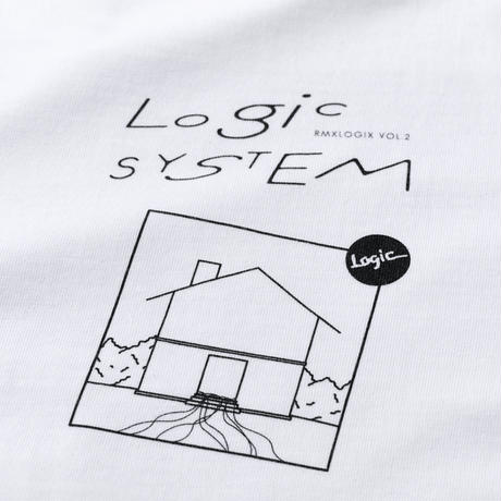 "pinewaves / Logic System "" RMXLOGIX Vol.2"" Tシャツ"