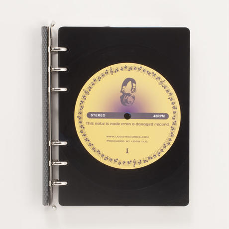 レコード ノート バインダー 手帳 Logu Recording Note アップサイクル(UP cycle) RN-009C