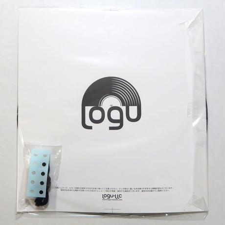 キーラック   本物のレコードで出来た アクセサリーラック   キーホルダー掛け  ミラー付 アップサイクル KR-008