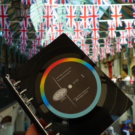 Logu Recording Note レコードで出来たノート アップサイクル(UP cycle)  RN-008C