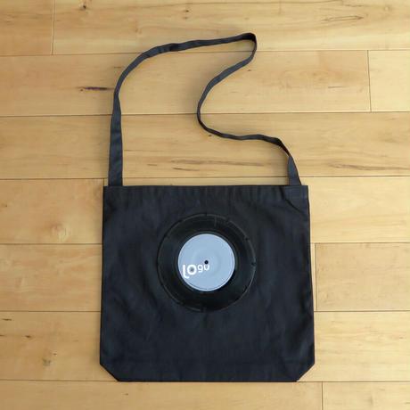 本物のレコードを使ったショルダーバッグ「bagu」ブラック ST-006BK