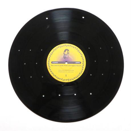 キーラック   本物のレコードで出来た アクセサリーラック   キーホルダー掛け  ミラー付 KR-009