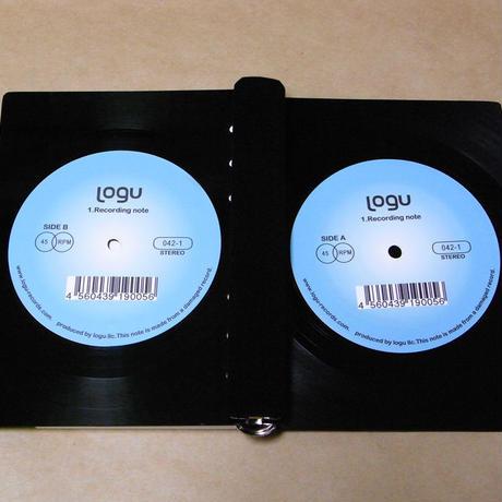 レコード バインダー手帳 Logu Recording Note  アップサイクル(UP cycle) RN-005D
