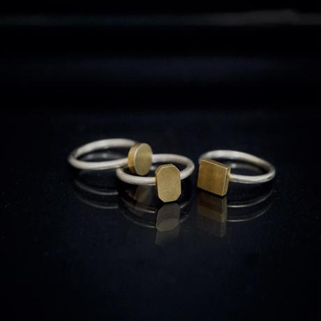 signet ring flat octagon