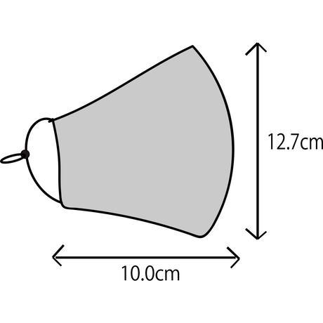 インナーパット付き布マスク 徳田秋聲『縮図』 M size 002